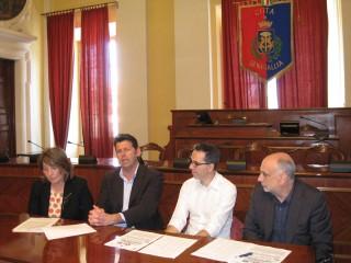 Presentazione in municipio a Senigallia del CaterRaduno 2012