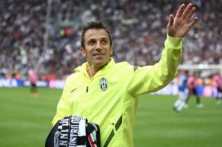 Del Piero si congeda allo Juventus Stadium