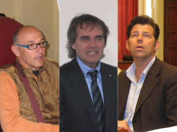 """Il """"terzetto"""" della sanità: Volpini, Bevilacqua, Mangialardi"""
