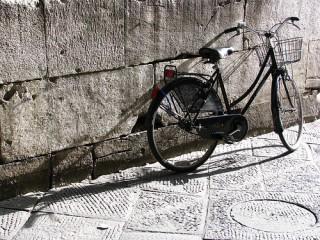 Una bicicletta