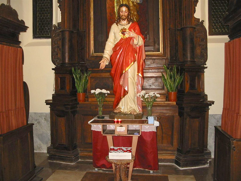 Sacro Cuore di Gesù al Convento dei frati cappuccini di Corinaldo