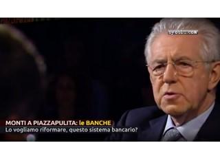 Mario Monti a Piazza Pulita