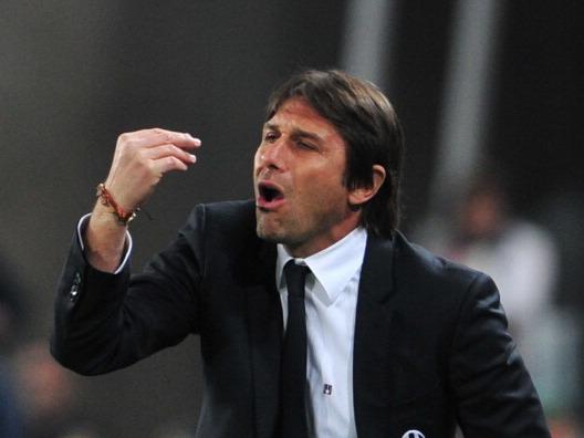 L'allenatore della Juventus Antonio Conte