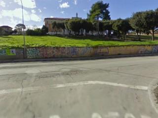 L'incrocio tra via Monteverdi e via Cellini a Senigallia
