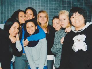 Gli alunni dell'Istituto oOrinaldesi partecipanti al progetto di scrittura