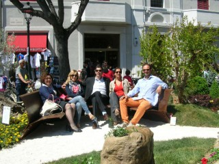 """Staff organizzativo di """"Via Carducci in fiore 2012"""""""