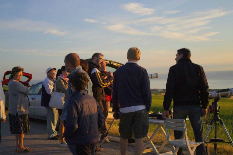 Osservazione del passaggio di Venere a Montignano