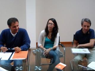 L'avvocato Canafoglia e i suoi collaboratori