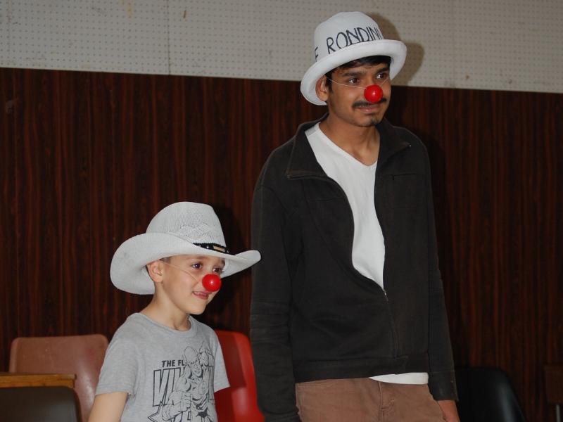 Laboratorio di piccolo circo al Centro Le Rondini di Senigallia