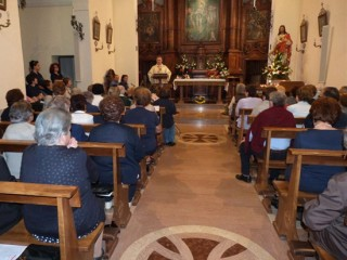 Messa per la Festa del Sacro Cuore a Corinaldo