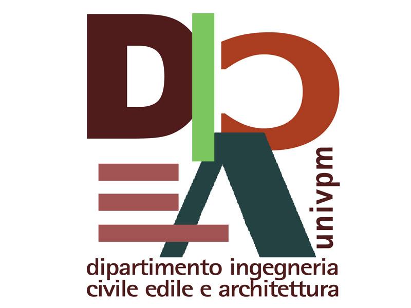 Logo DICEA (Dipartimento di Ingegneria Civile, Edile e Architettura) dell'Università Politecnica delle Marche