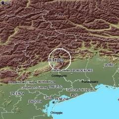 Terremoto tra Veneto e Friuli