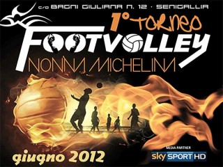 Torneo di foot volley Nonna Michelina a Senigallia