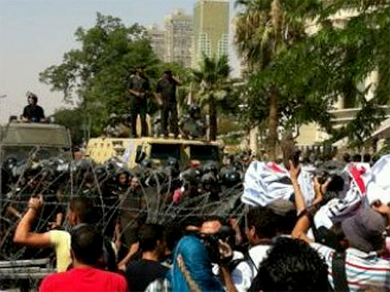 Protesta in Egitto per la dichiarazione di nullità delle ultime elezioni