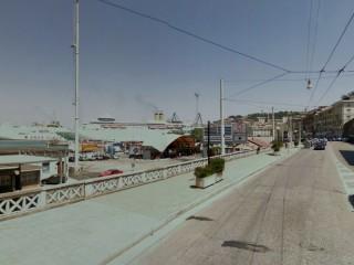 La zona imbarchi del porto di Ancona