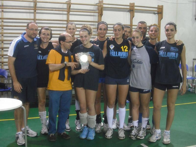 Successo delle ragazze della Deagourmet Senigallia nel torneo Marche-Umbria di volley femminile