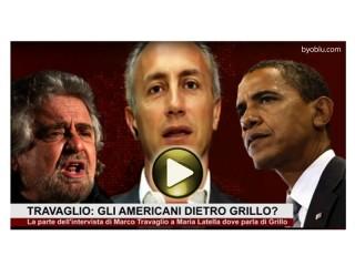 Beppe Grillo, Marco Travaglio, Barak Obama