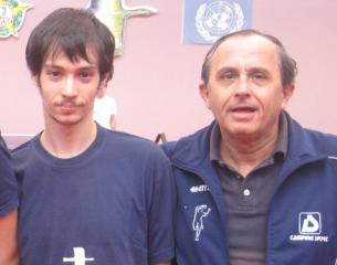 Ivano Faini (a destra)