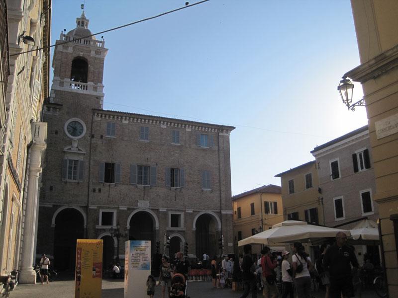 I luoghi del Caterraduno 2012 - Piazza Roma
