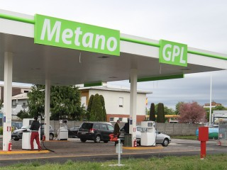 Distributore metano e gpl