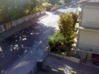 Via Cellini a Senigallia, angolo con via dell'Innominato