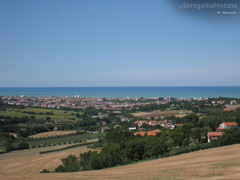 Veduta di Senigallia (foto di Massimo Mariselli)