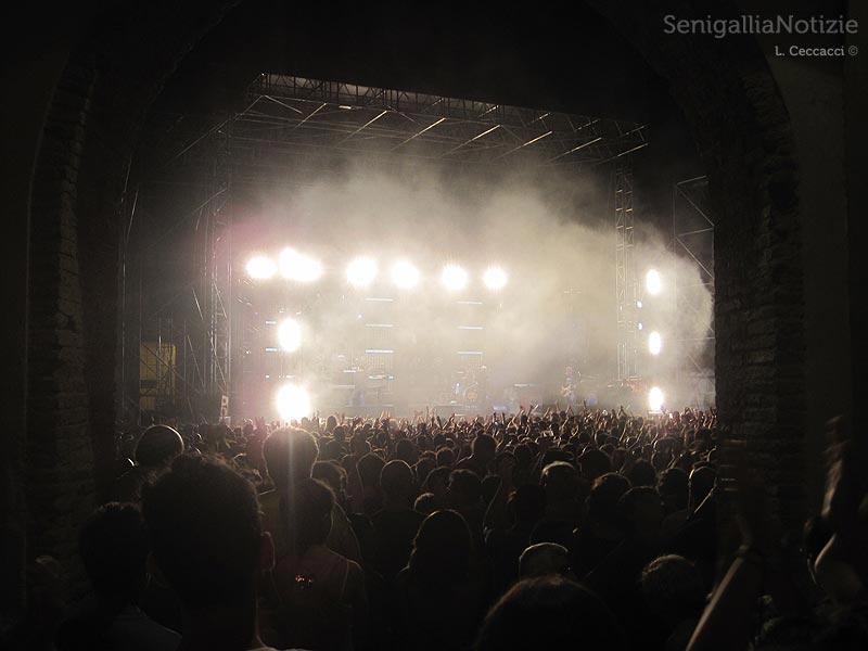 Concerto dei Subsonica a Senigallia per il CaterRaduno 2012