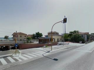 La stazione ferroviaria a Marzocca di Senigallia