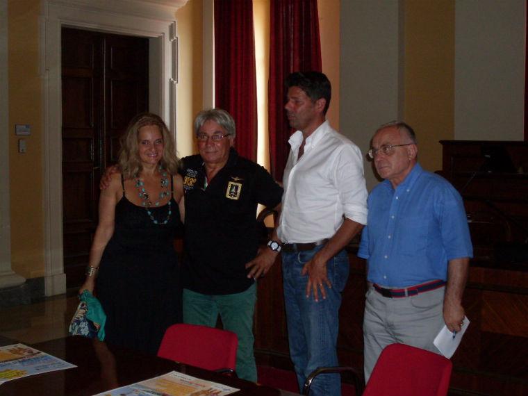 AnnaGloria, Riga, il sindaco Mangialardi e il suo portavoce Cavallari