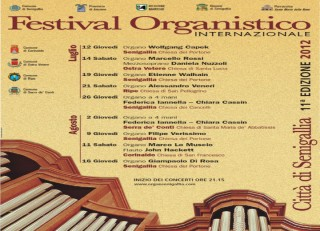 Il programma del Festival organistico 2012