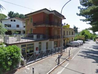 L'ufficio postale di Monterado, in via Vittorio Veneto