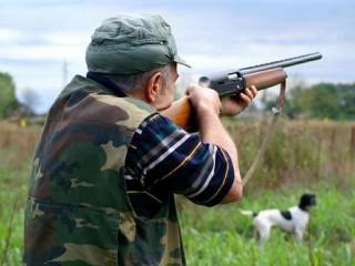 Un cacciatore in azione