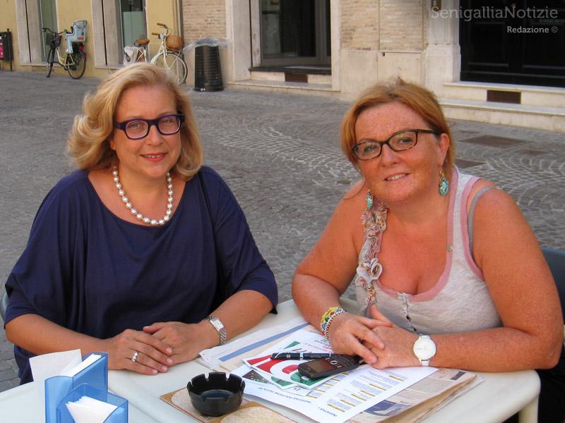 Elisabetta Allegrezza e Catia Ventura