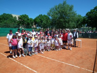 Giocatori del Senigallia Tennis Team