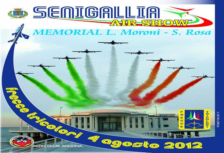 Le Frecce Tricolori a Senigallia, manifesto
