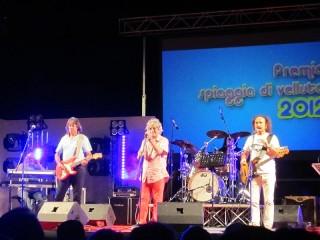 I Camaleonti al Premio Città di Senigallia Spiaggia di Velluto 2012