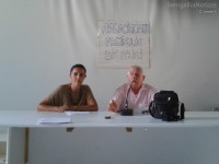 Assemblea delle famiglie con disabili per l'assistenza domiciliare: Catia Donninelli e Gianni Silvestrini