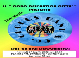 Locandina dell'evento Chorus Band & Co.