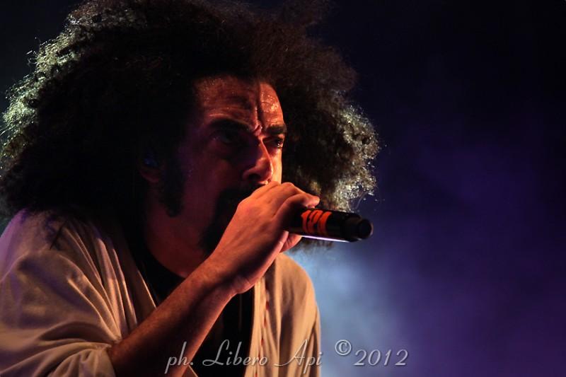 Il rapper Caparezza al Mamamia di Senigallia