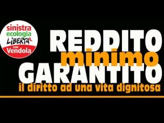 Logo SEL per la campagna sul reddito minimo garantito