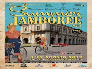 Il poster del Summer Jamboree 2012