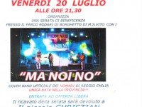"Concerto ""Ma noi no"" in favore di Christian Cialona"