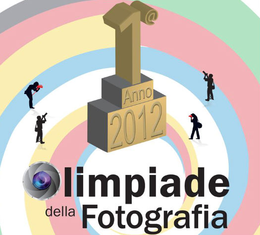 Manifesto 1° Olimpiade della Fotografia a Senigallia