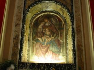 L'affresco di S.Anna (forse opera di Gentile da Fabriano)