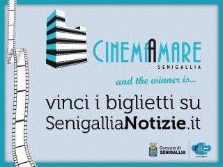 Locandina della rassegna CinemaAmare 2012 - Vinci i biglietti con SenigalliaNotizie.it