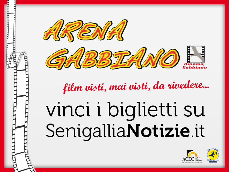 Logo Arena Gabbiano - biglietti gratis su SenigalliaNotizie.it