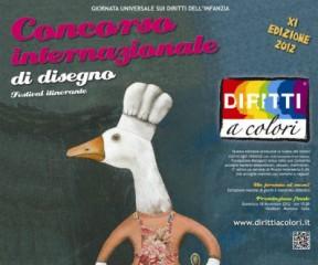 """Concorso Internazionale di Disegno """"Diritti a Colori"""""""