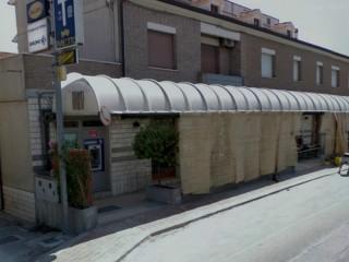 Bancomat al Cesano di Senigallia, a fianco del Caffè Uliassi