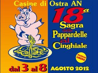 Sagra delle Pappardelle al Cinghiale 2012 a Casine di Ostra