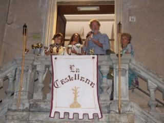 Concorso di disegno alla Festa Castellana di Scapezzano: la premiazione